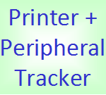 printer tracker button
